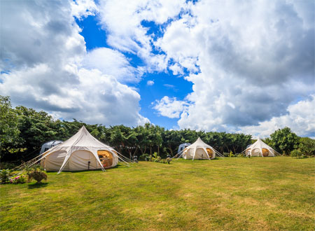 Camping and Glamping on the Shannon River